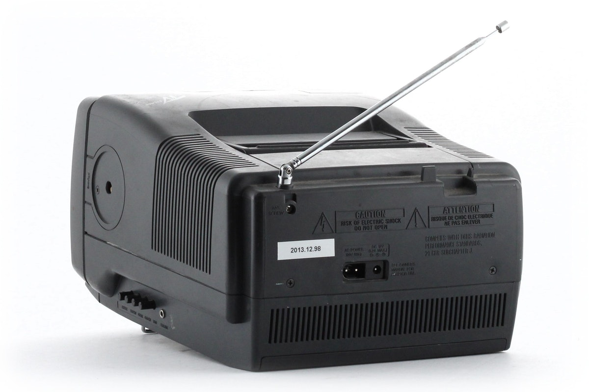 Portable Color Television with Tuner