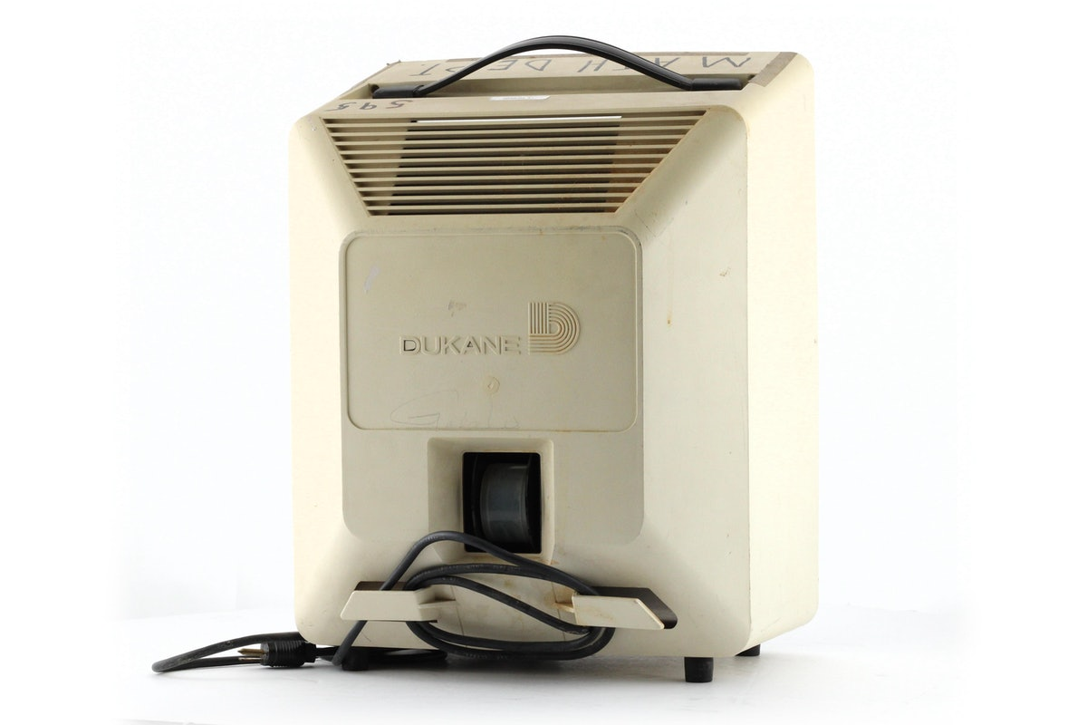 Dukane A-V Matic 35mm Filmstrip Viewer