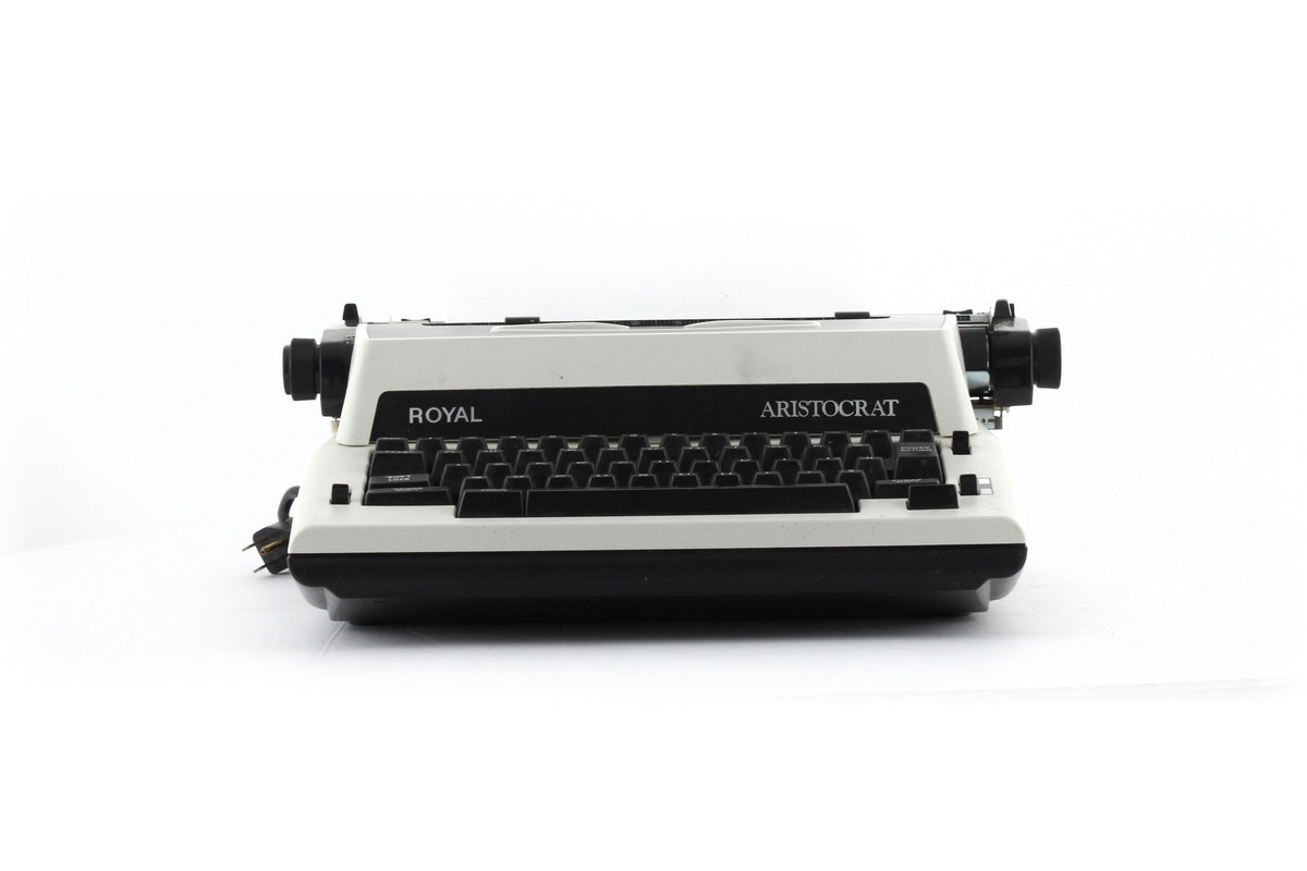 Royal Aristocrat Electric Portable Typewriter