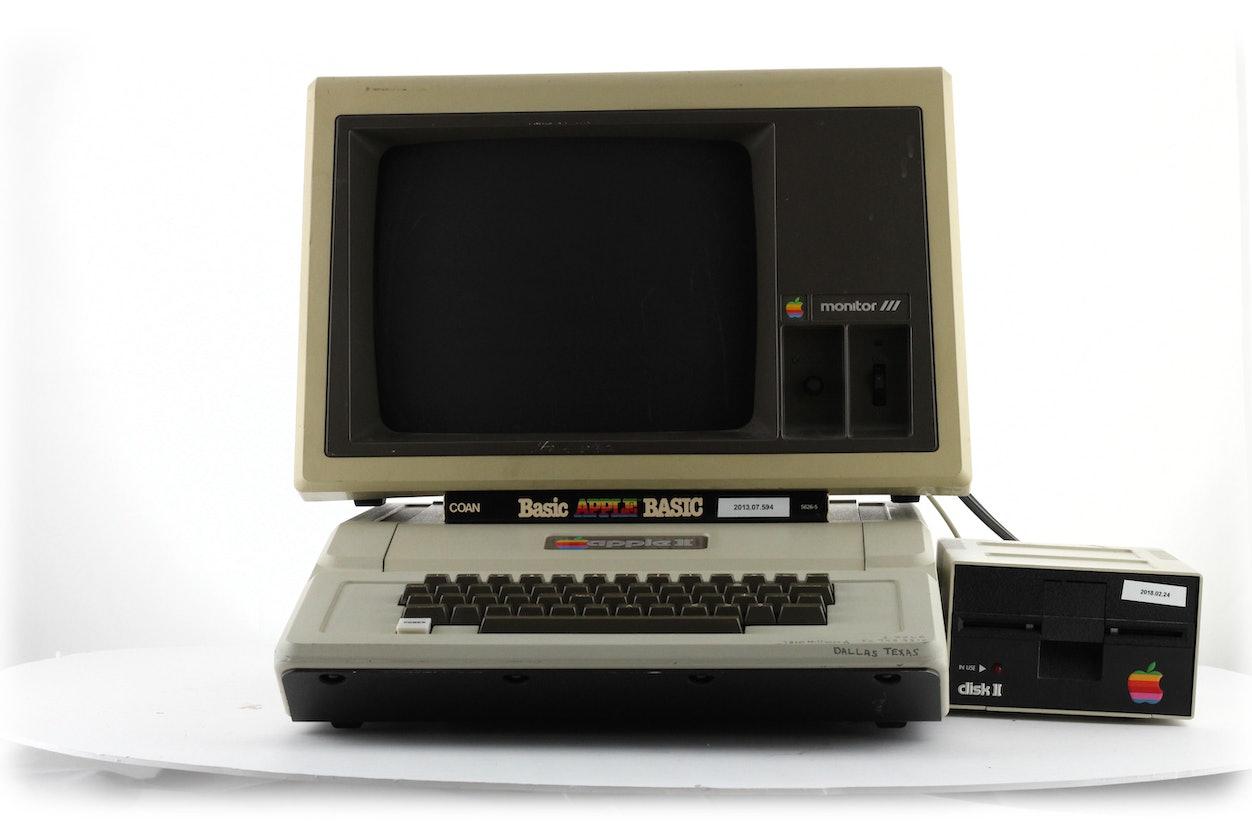 Apple II External Floppy Disk Drive