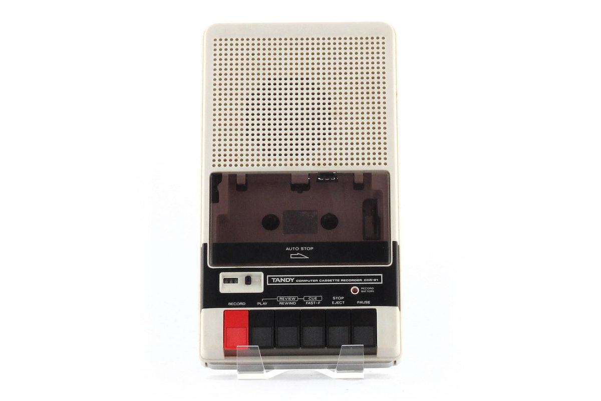 Tandy Computer Cassette Recorder CCR-81