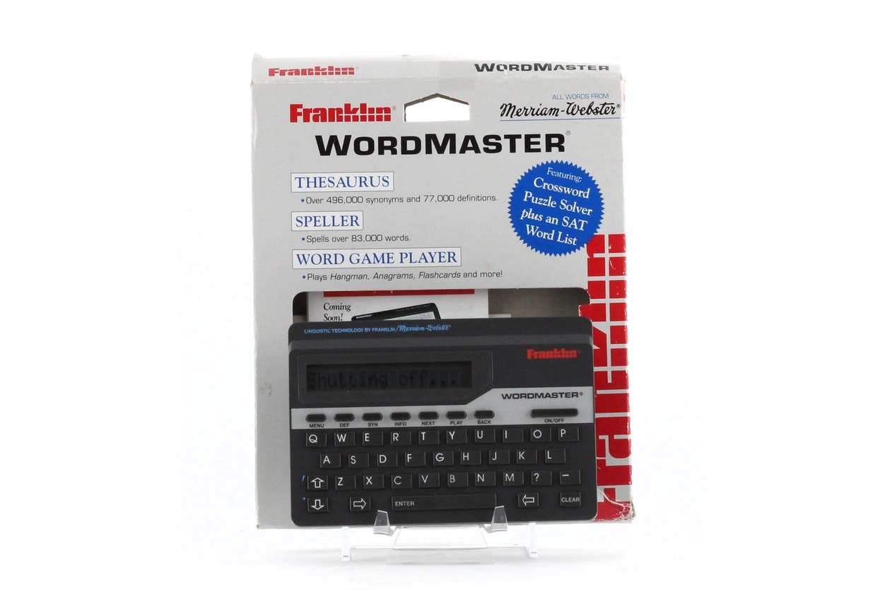 Franklin WordMaster Deluxe