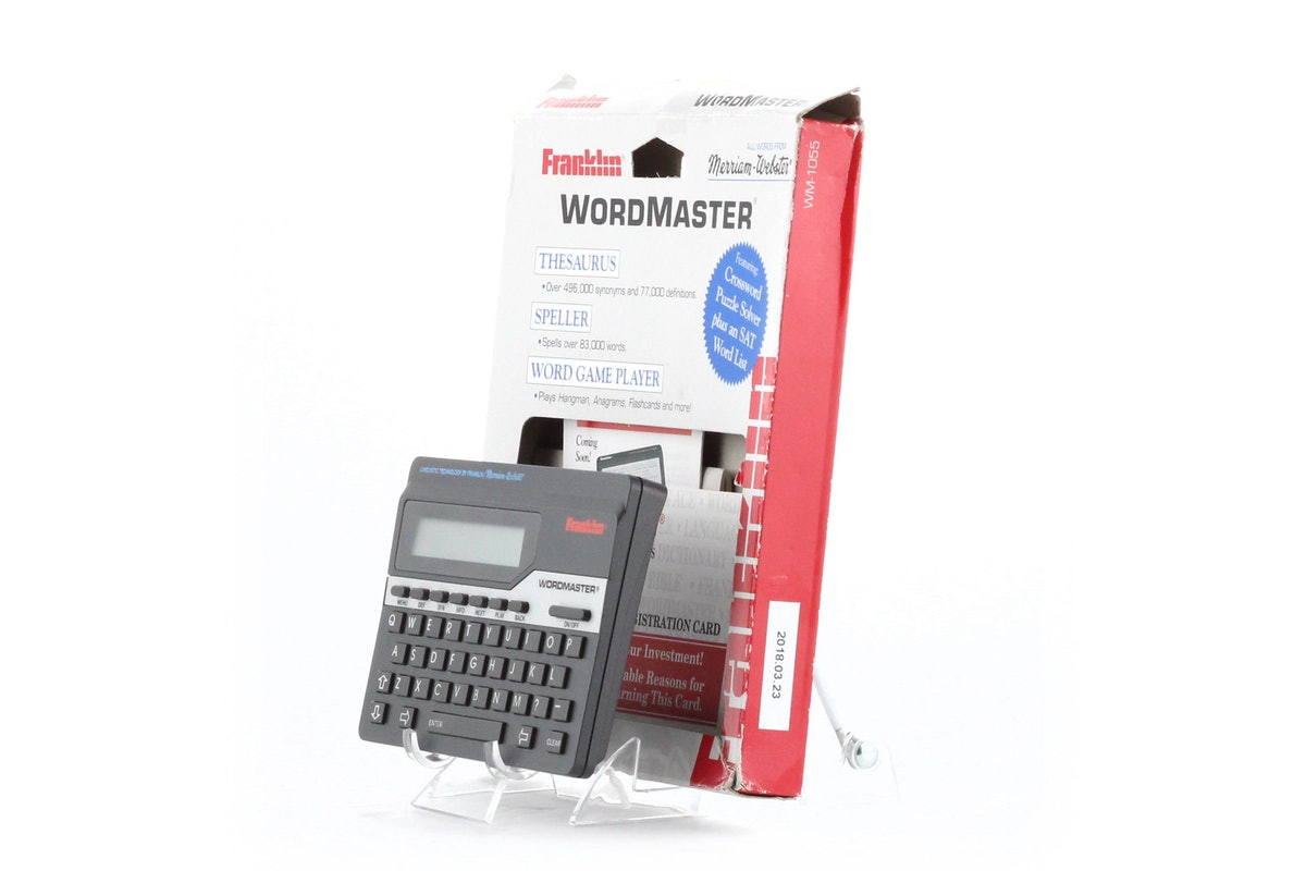 Franklin WordMaster Deluxe