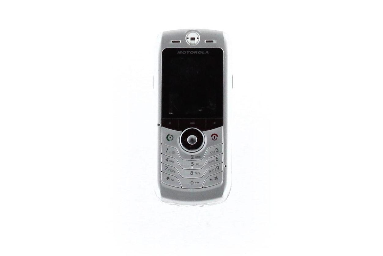Motorola Slvr Cell Phone