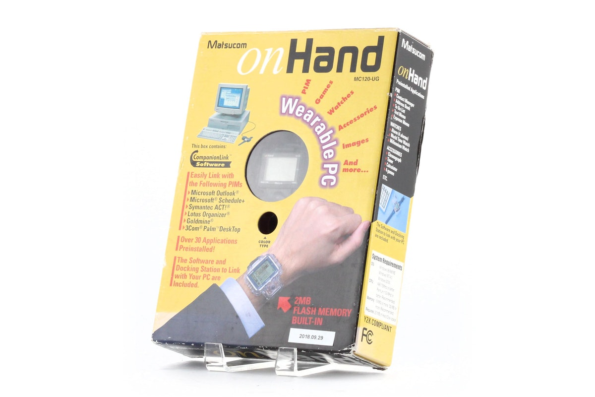 On Hand Wearable PC