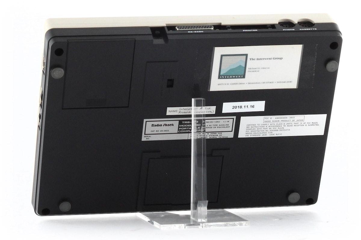 TRS-80 Model 100 Portable Computer