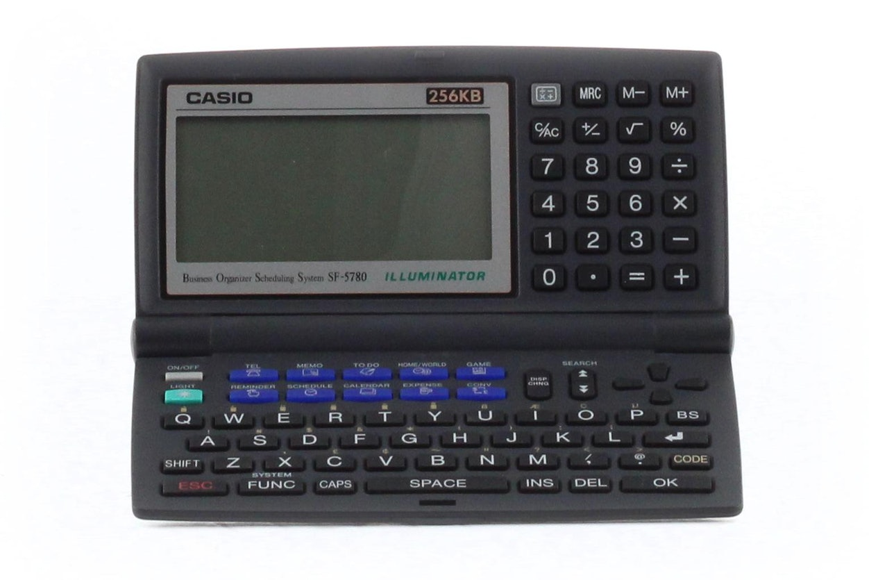 Casio Business Scheduling System SF-5780 Illuminator
