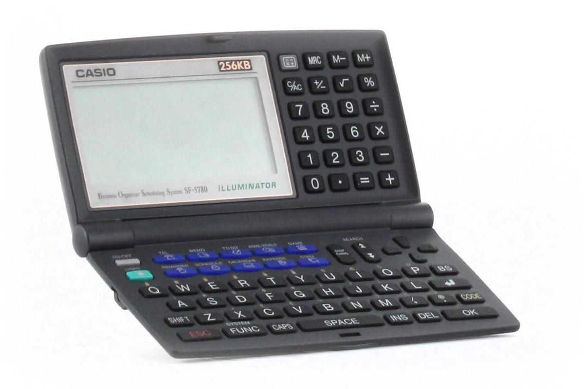 Casio Business Scheduling System SF-5780 Illuminator