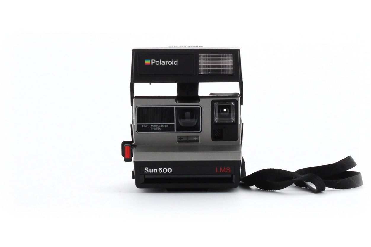 Polaroid Sun 600 LMS Land Instant camera