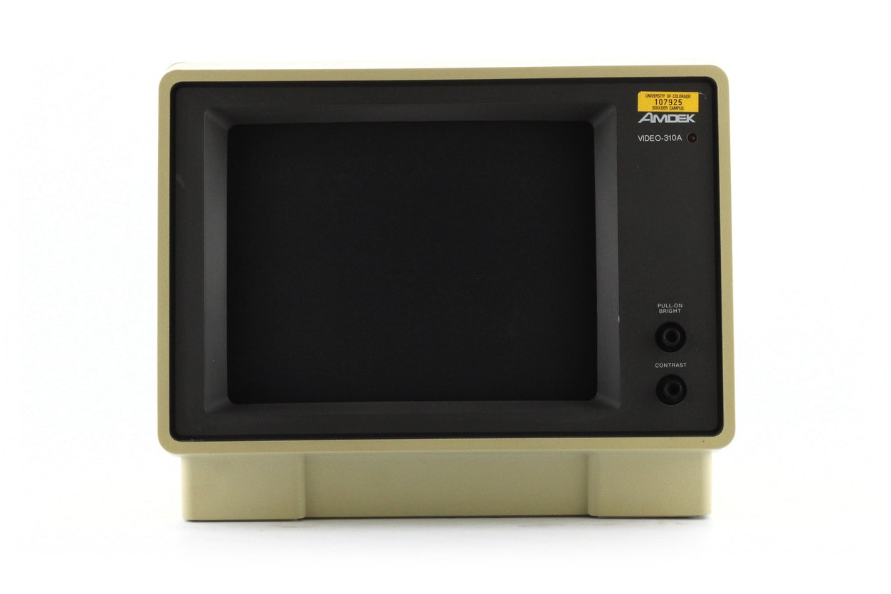 Amdek Video-310A monitor