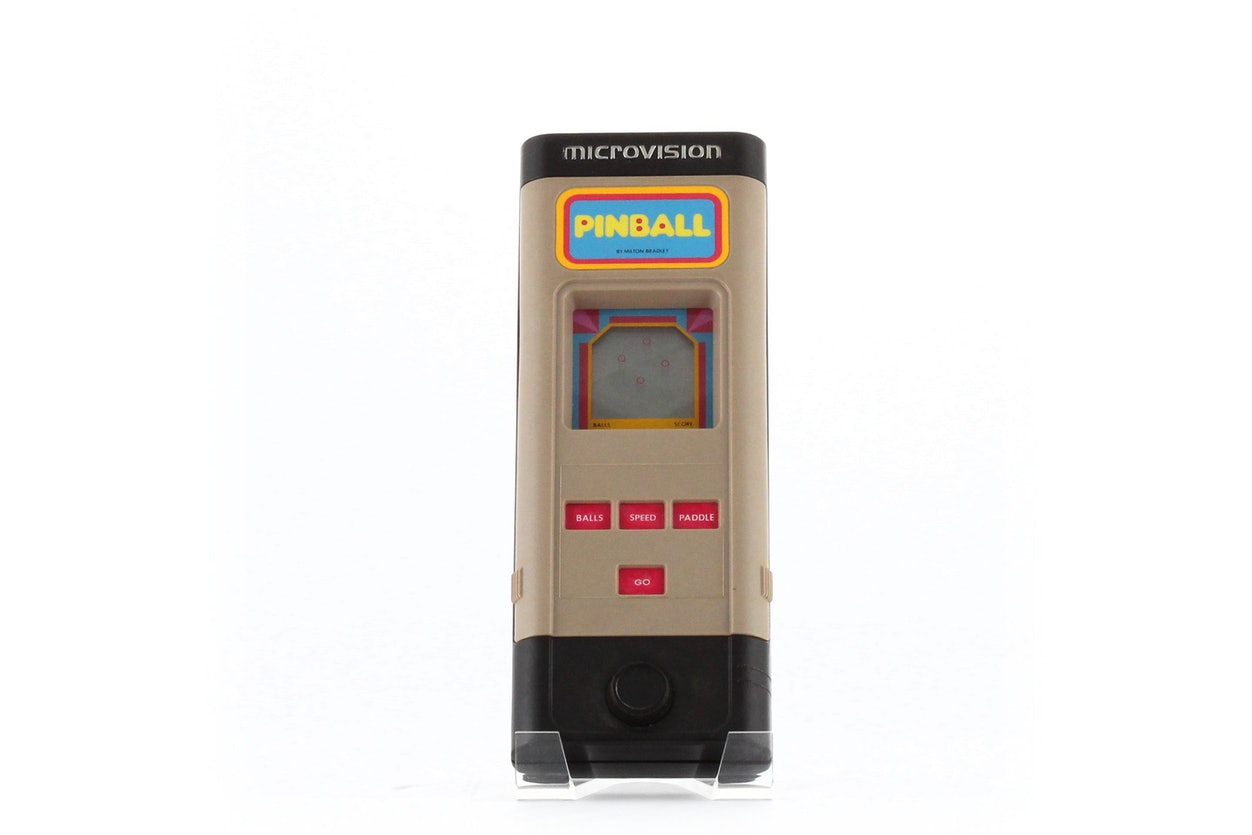 Microvision Programmable Electronic Game System