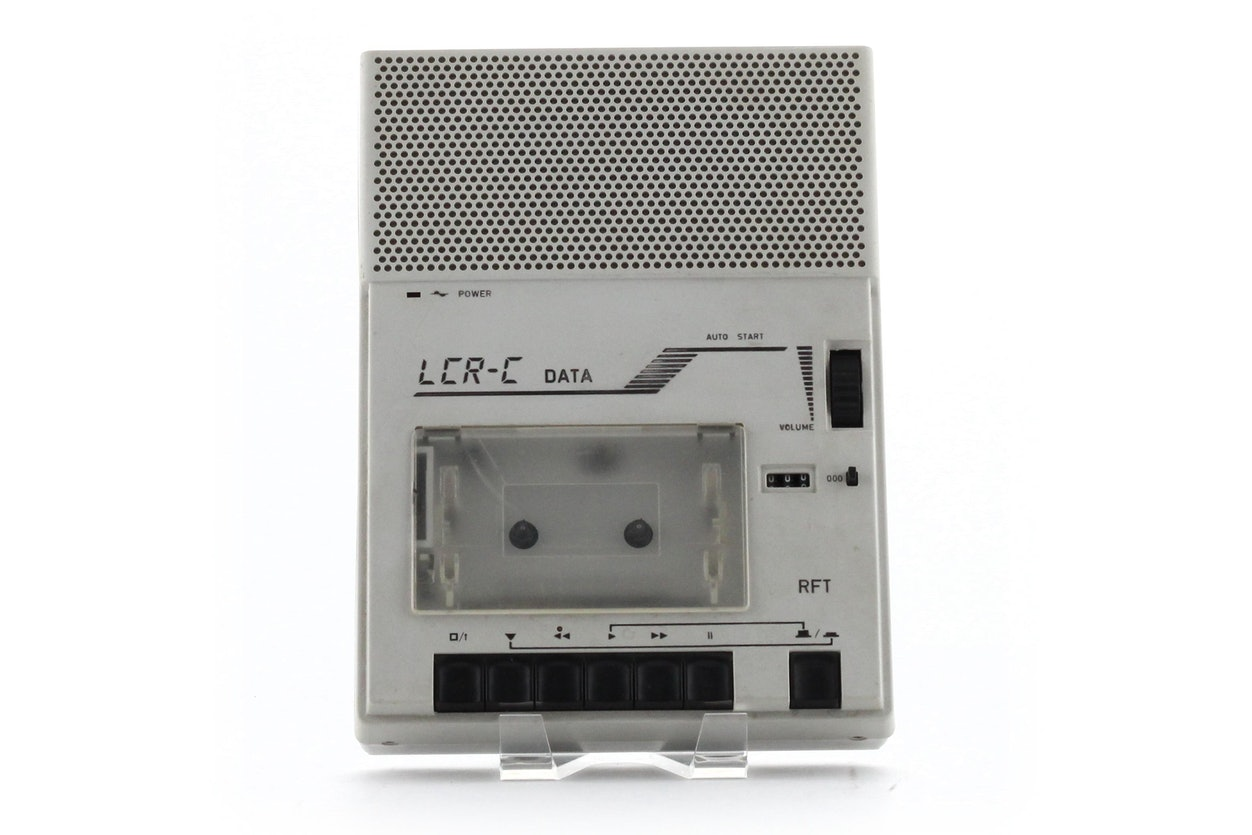 LCR-C Data Kassettenrecorder