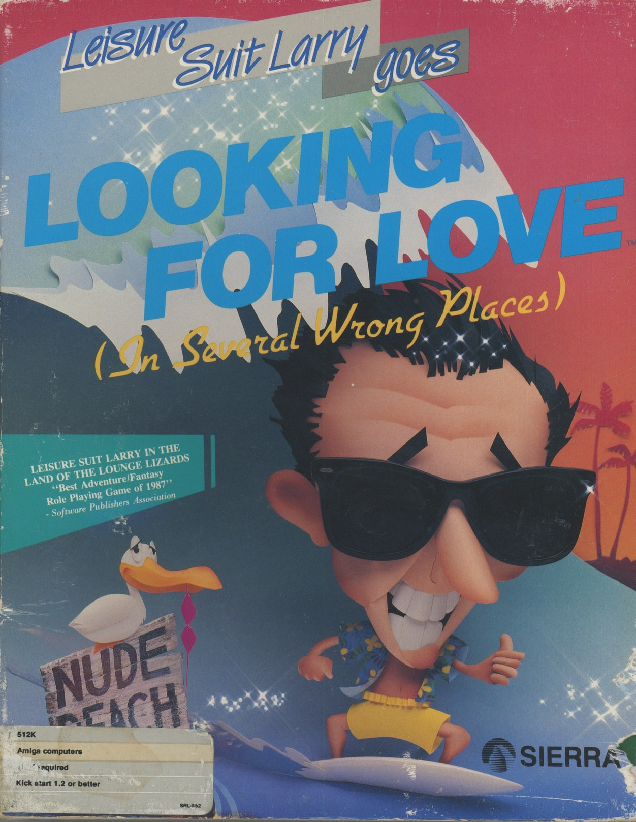 Leisure Suit Larry 2: Larry Goes Looking for Love (In Several Wrong Places)