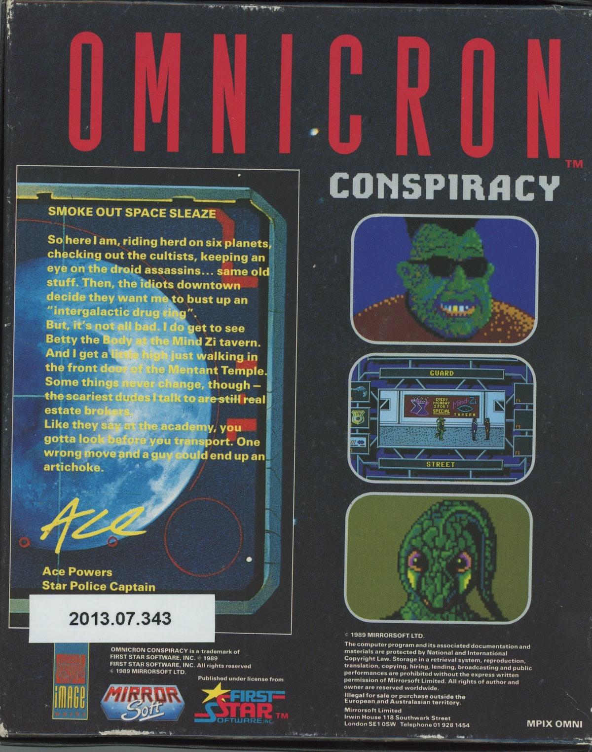 Omnicron Conspiracy