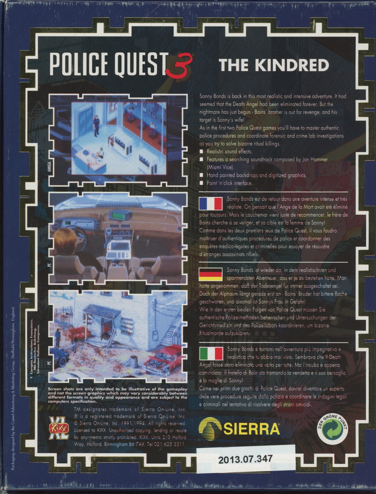 Police Quest III