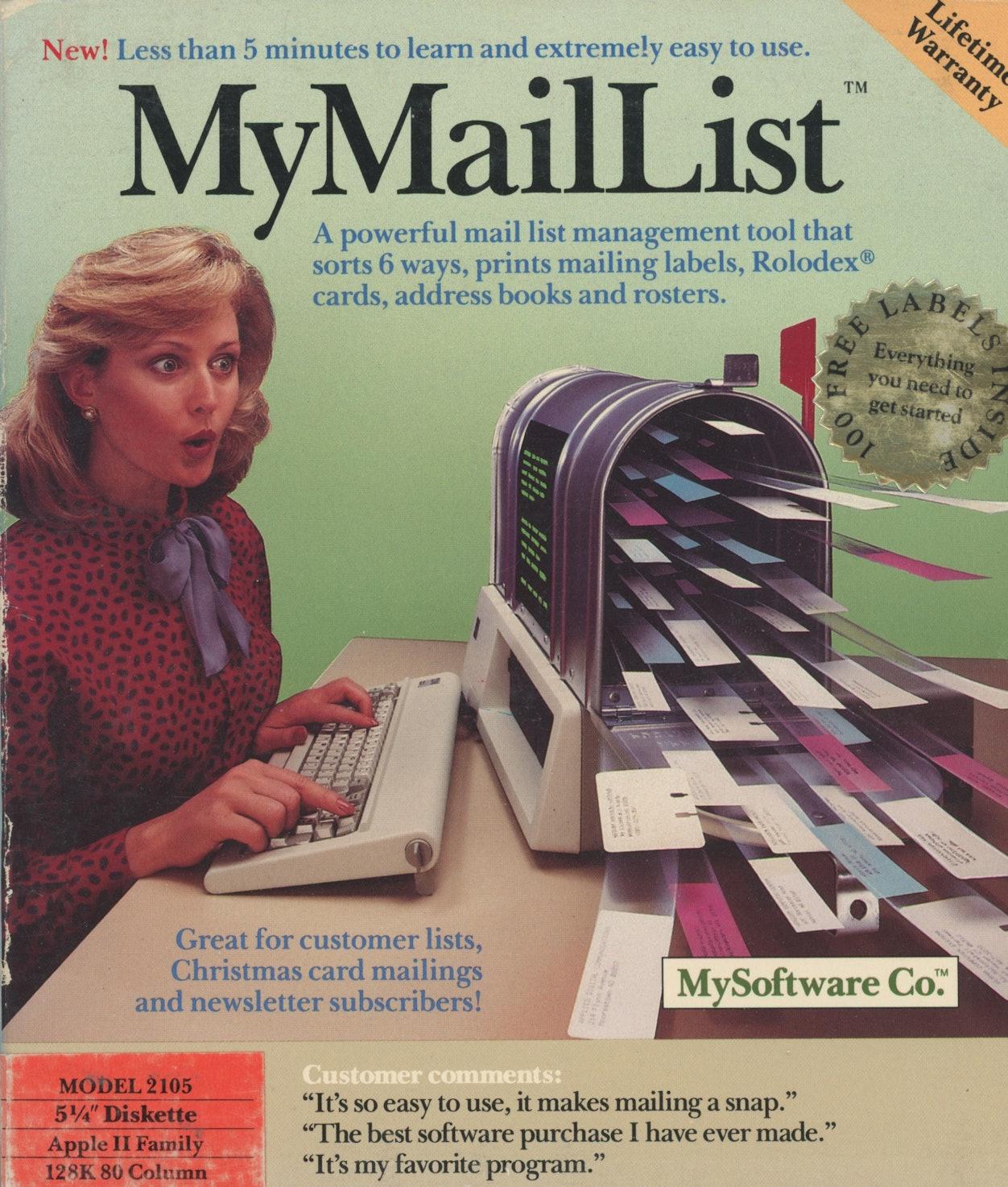 MyMailList