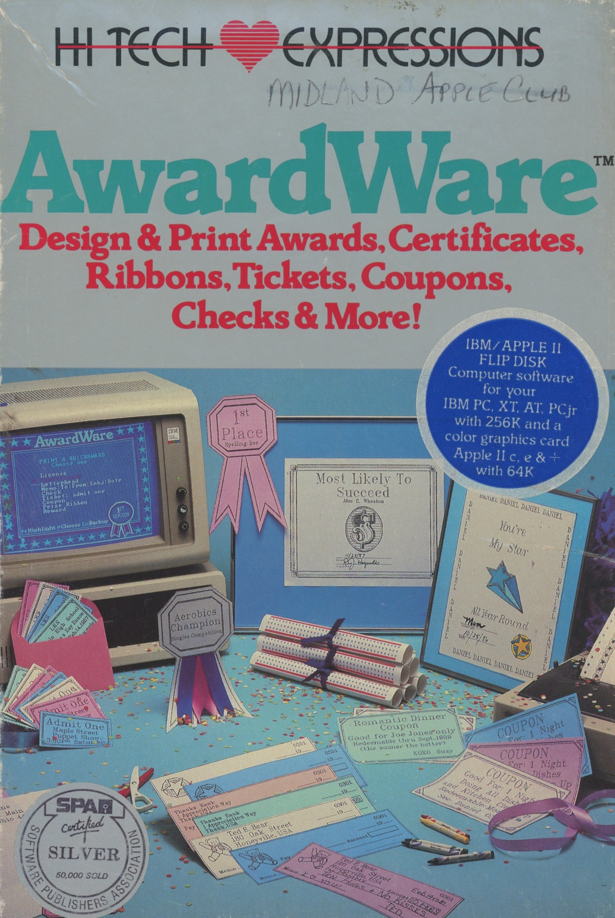AwardWare: Design & Print Awards, Certificates, Ribbons, TIckets, Coupons, Checks & More!