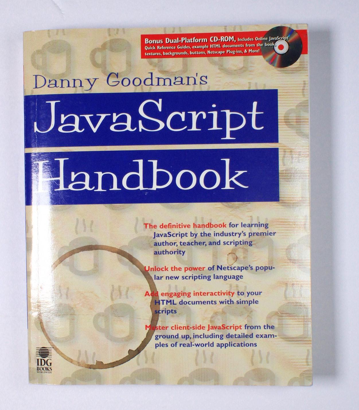 Danny Goodman's JavaScript Handbook