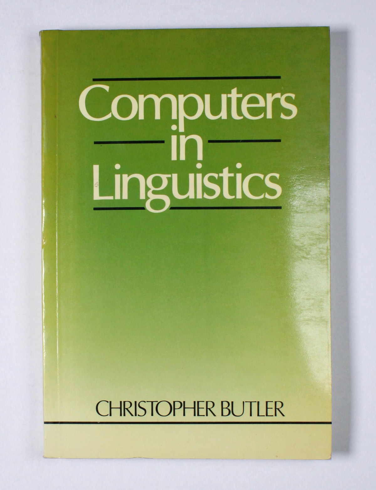 Computers in Linguistics