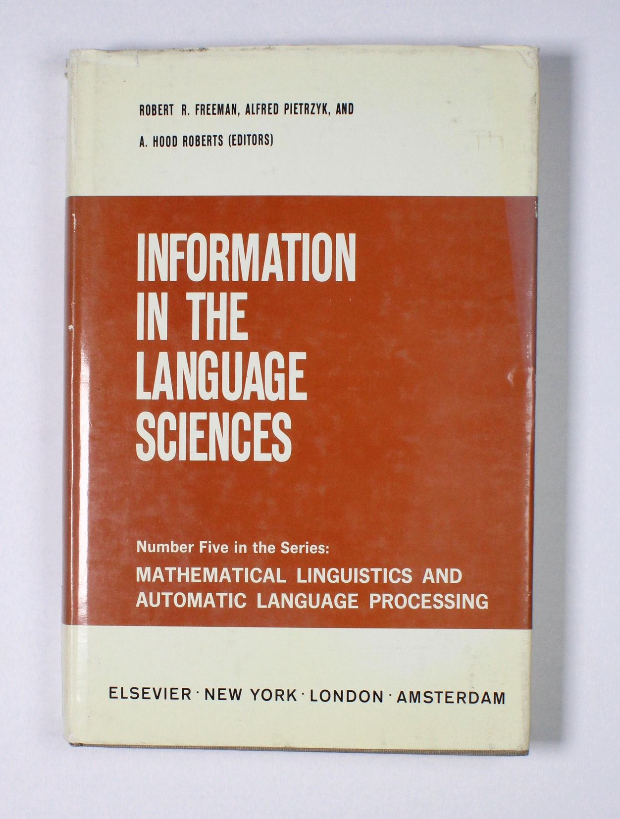 Information in the Language Sciences