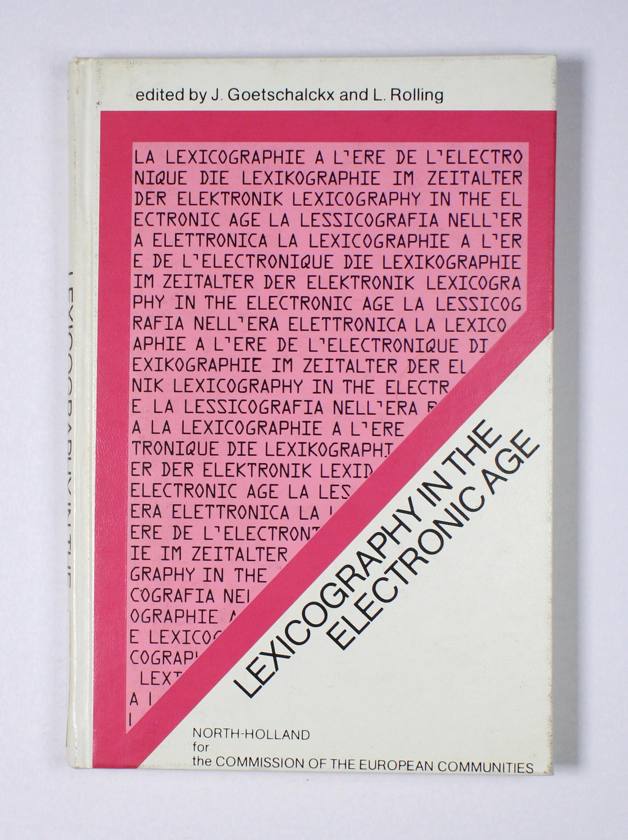 Lexicography in the Electronic Age
