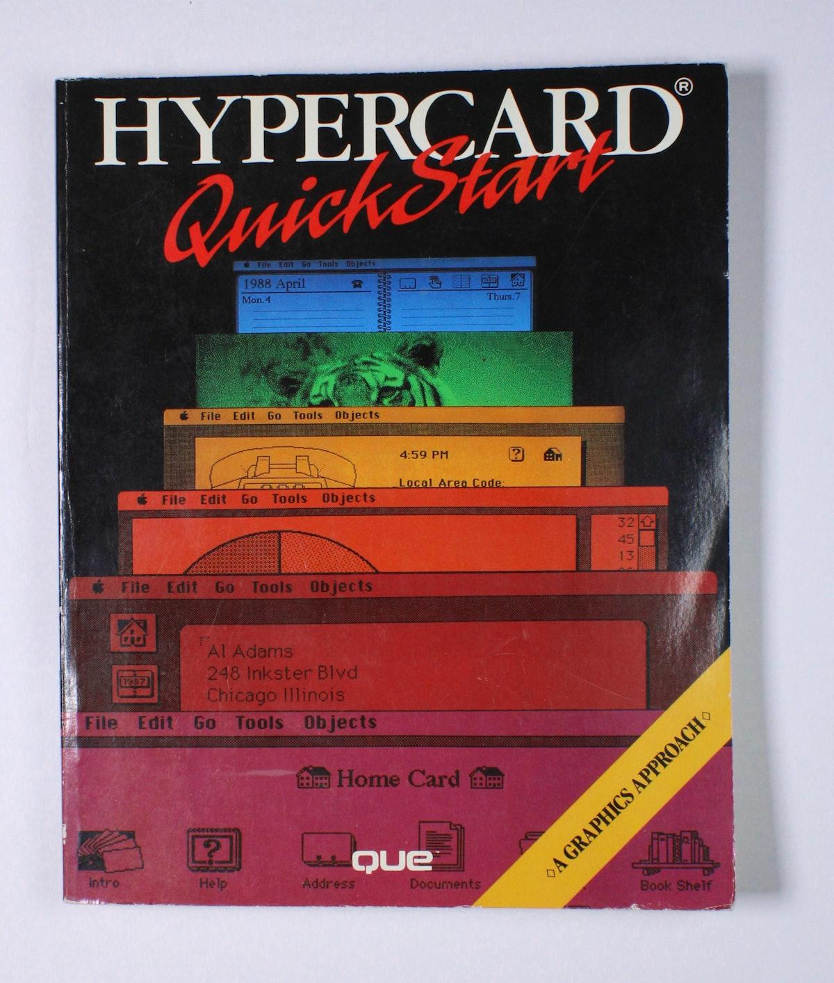 HyperCard QuickStart: A Graphics Approach