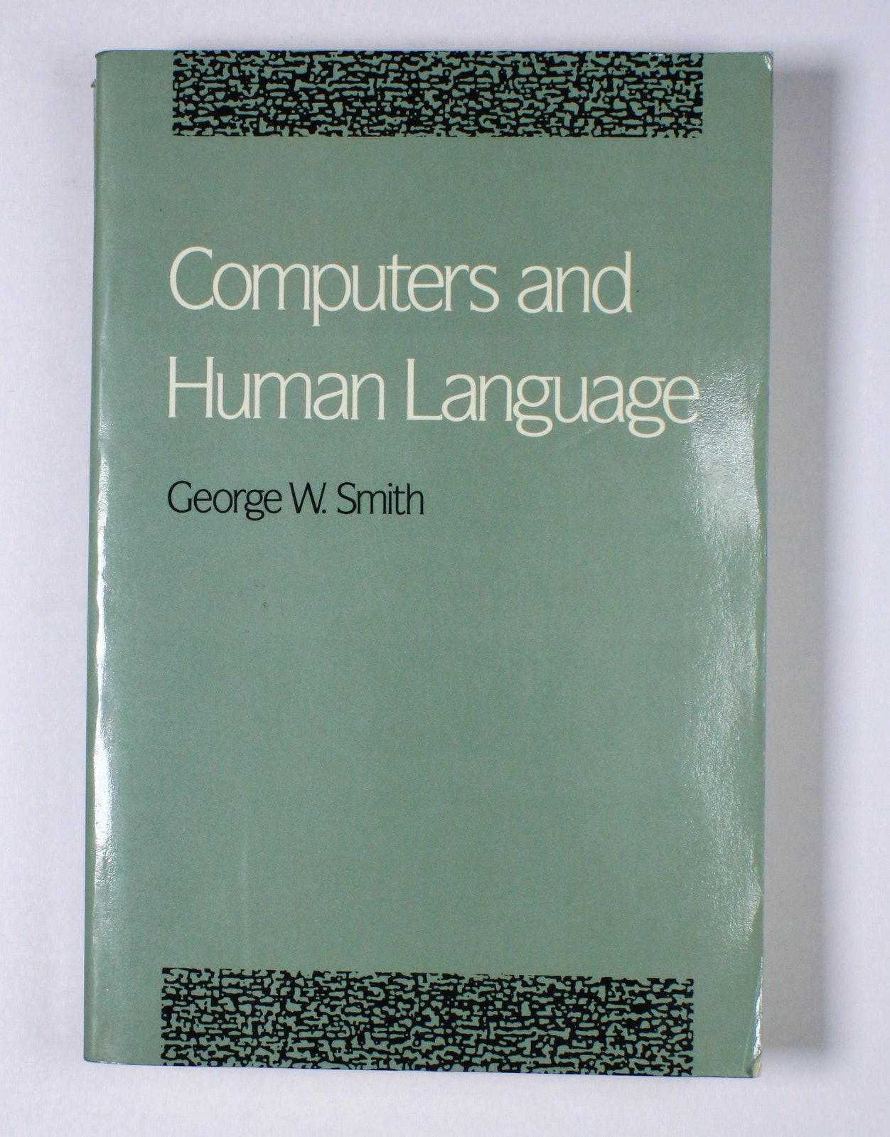 Computers and Human Language