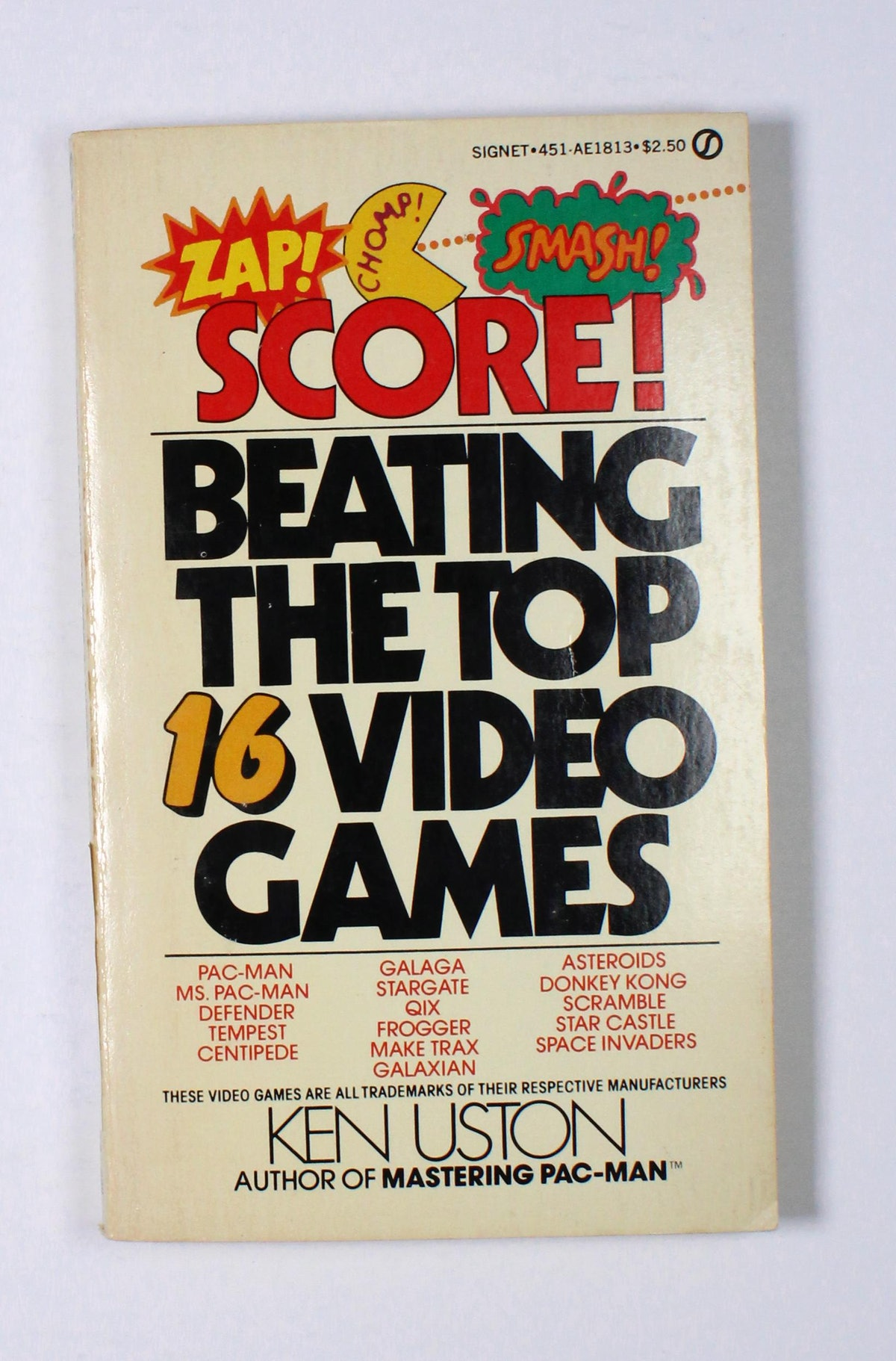 Score! Beating the Top 16 Video Games