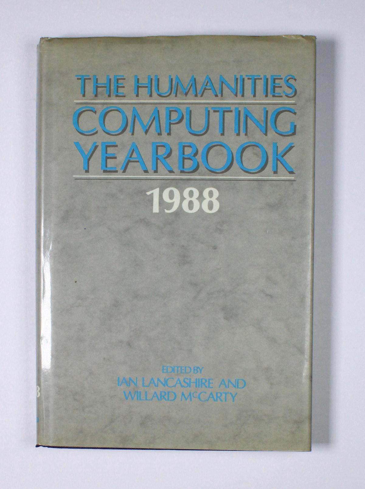 The Humanities Computing Yearbook - 1988