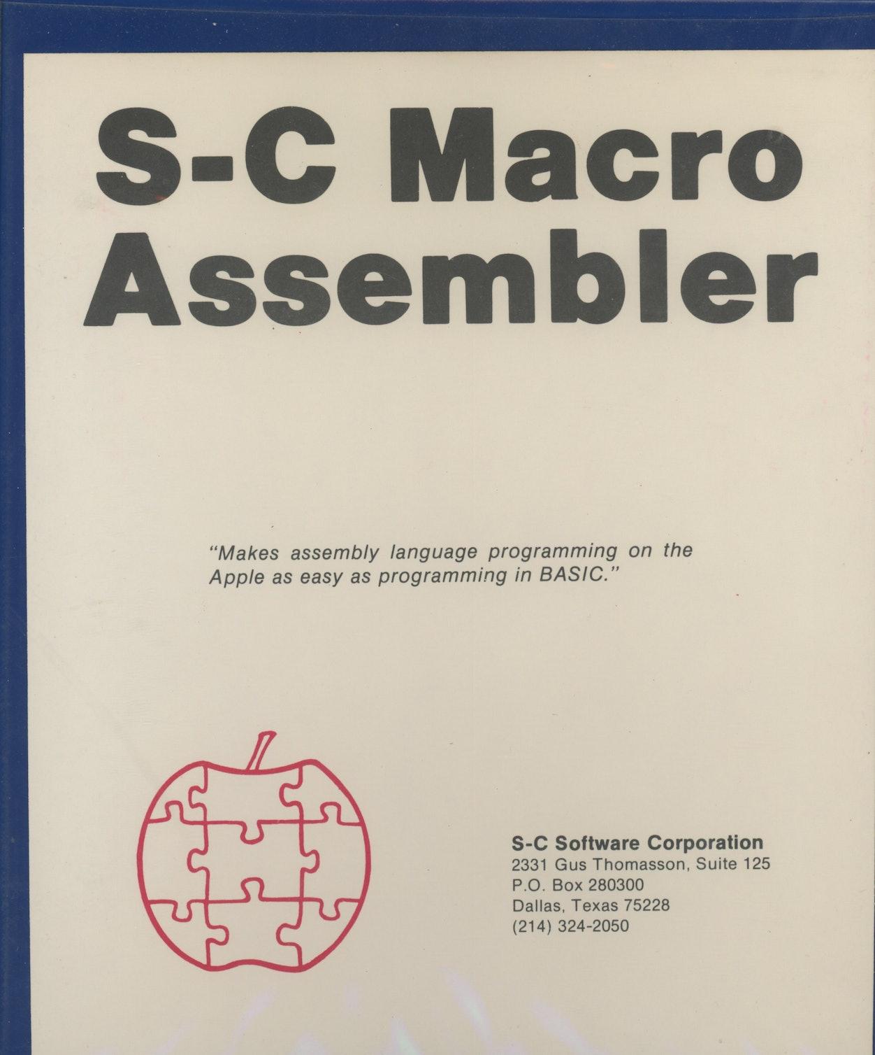 S-C Macro Assembler