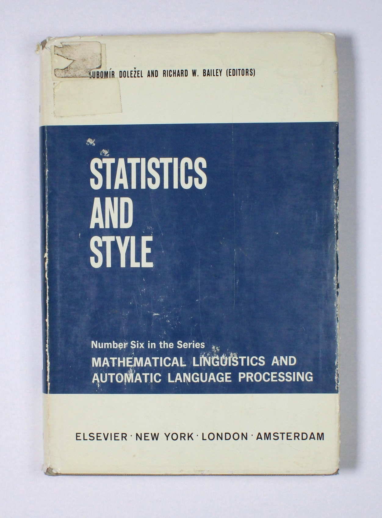 Statistics and Style
