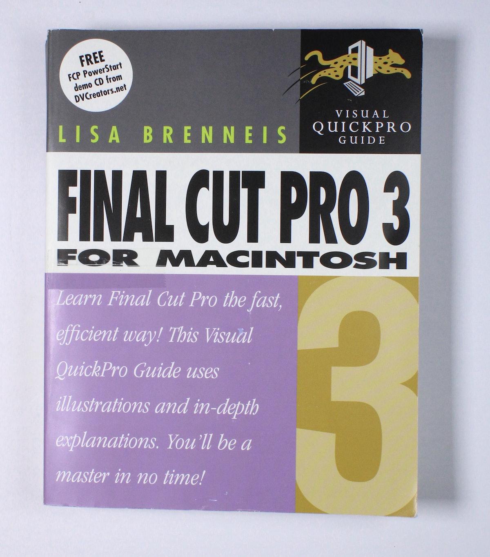 Final Cut Pro 3 for Macintosh