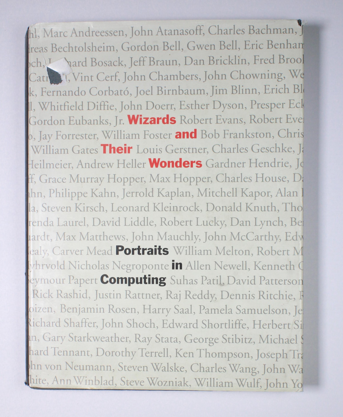 Wizards and Their Wonders: Portraits in Computing