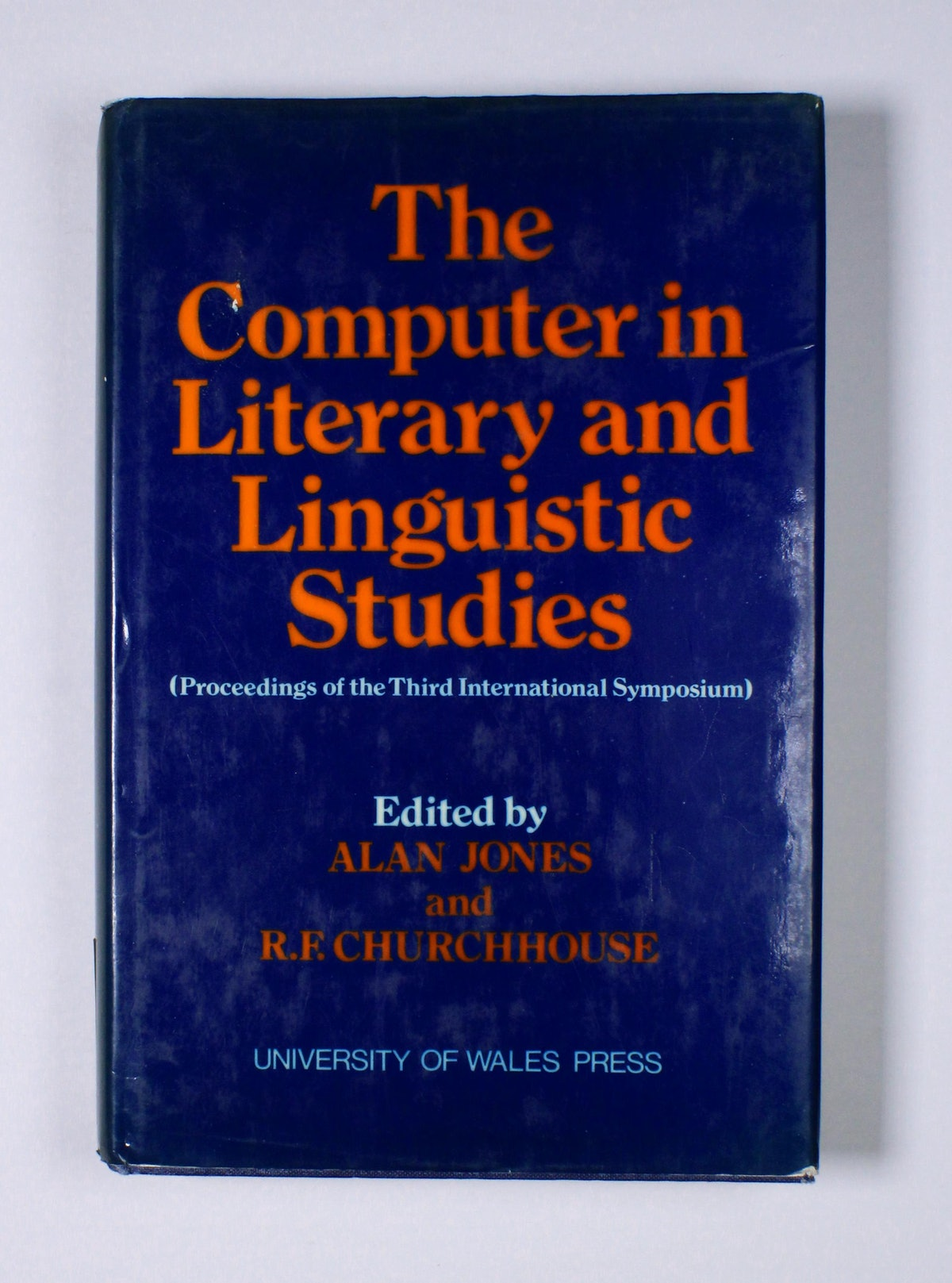 The Computer in Literary and Linguistic Studies