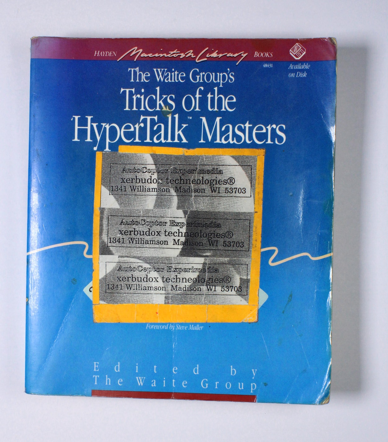 The Waite Group's Tricks of the HyperTalk Masters