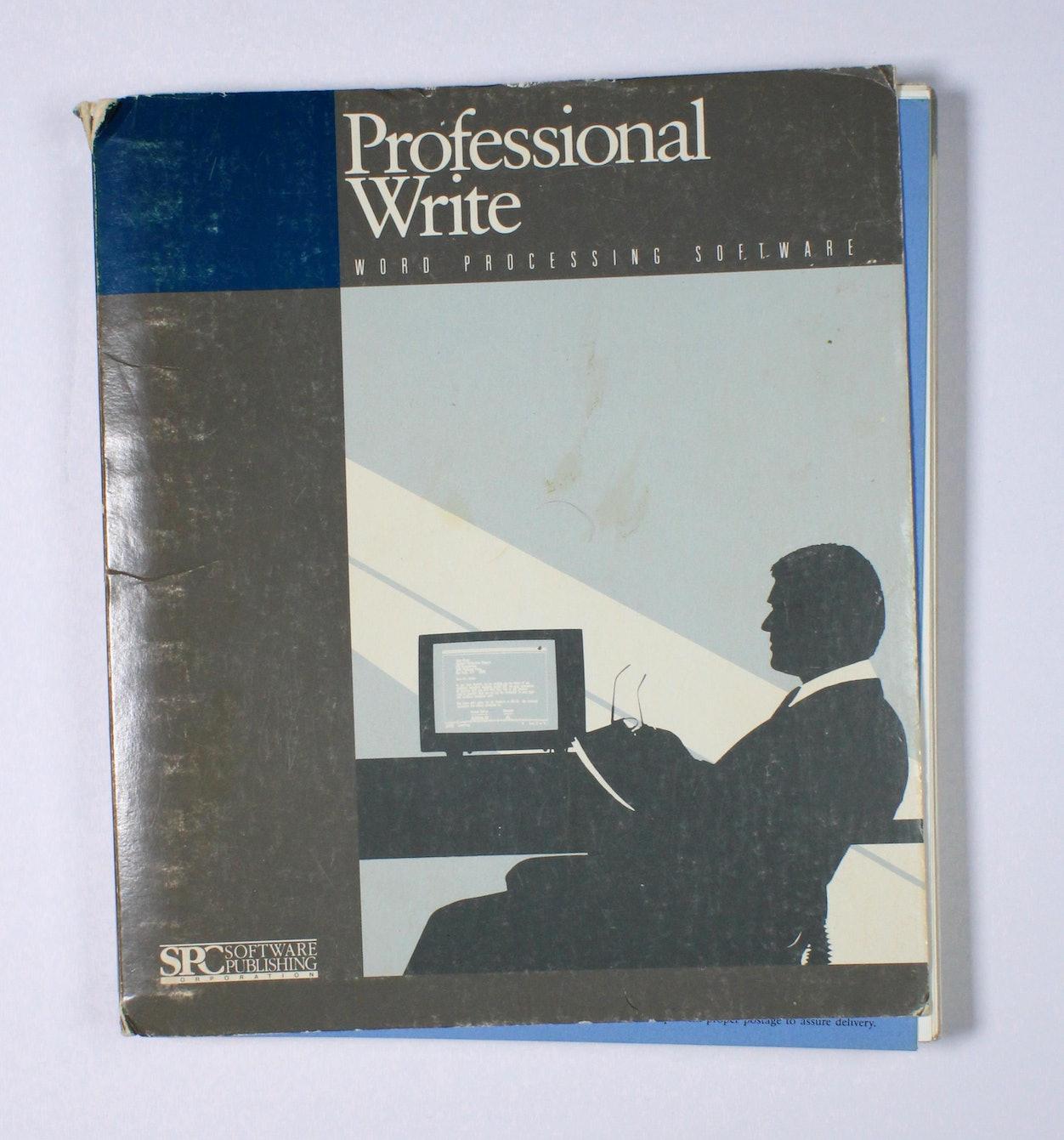 Professional Write - User's Manual