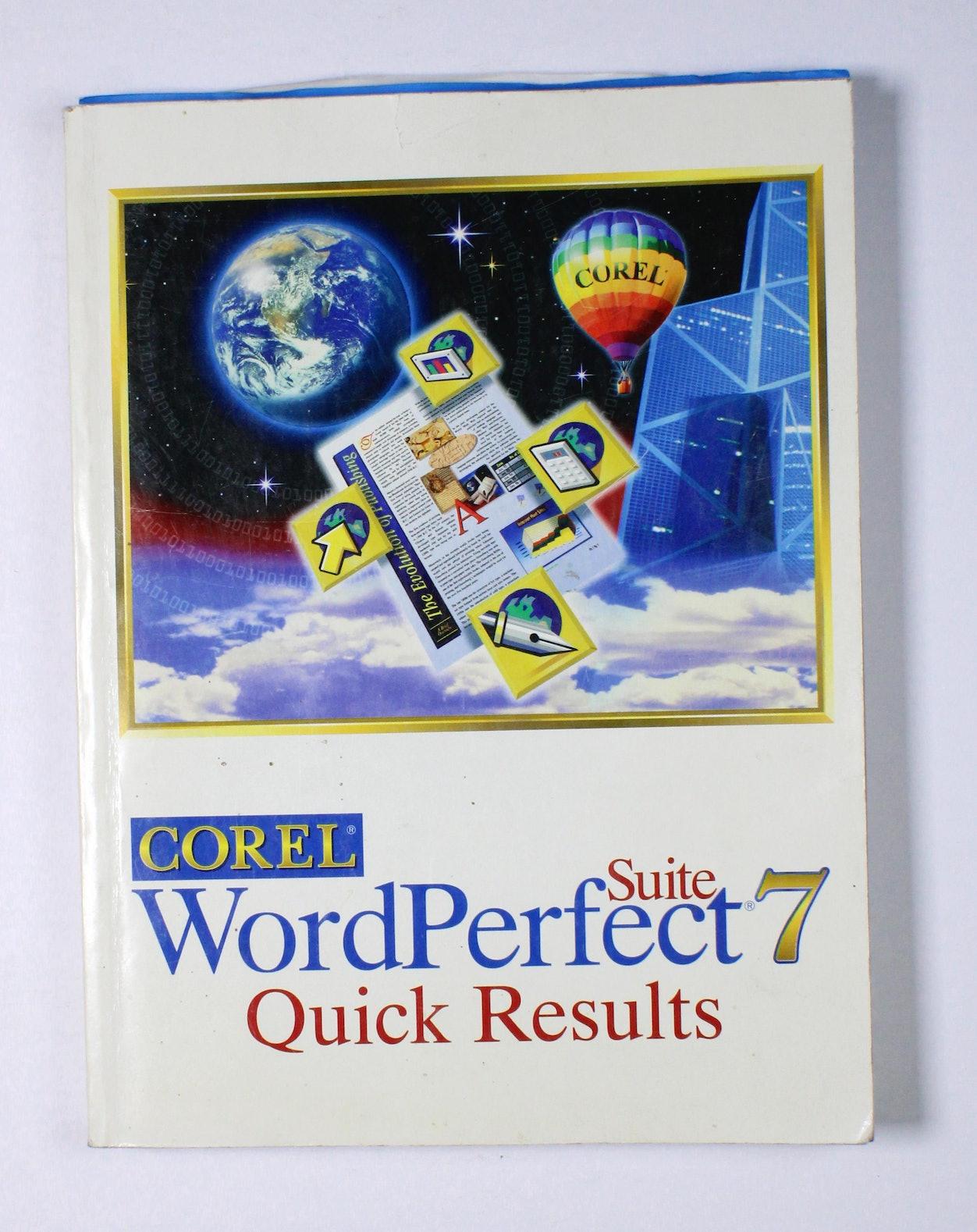 Corel: WordPerfect Suite 7 Quick Results