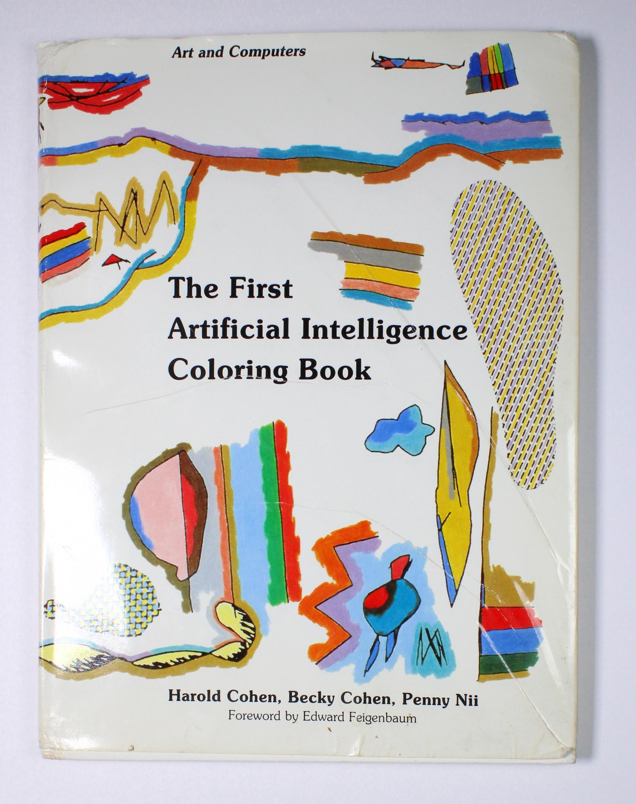 The First Artificial Intelligence Coloring Book