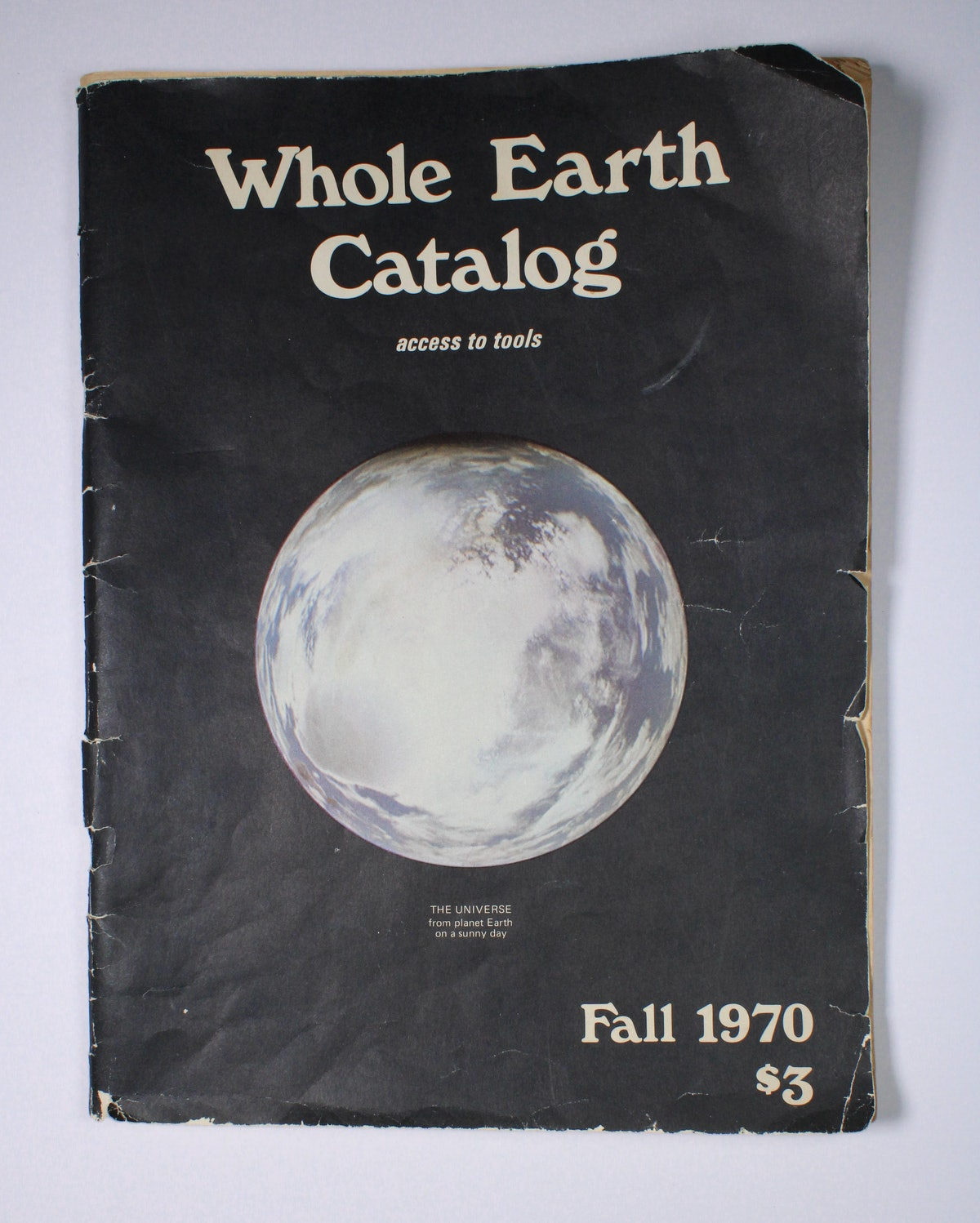 Whole Earth Catalog: access to tools