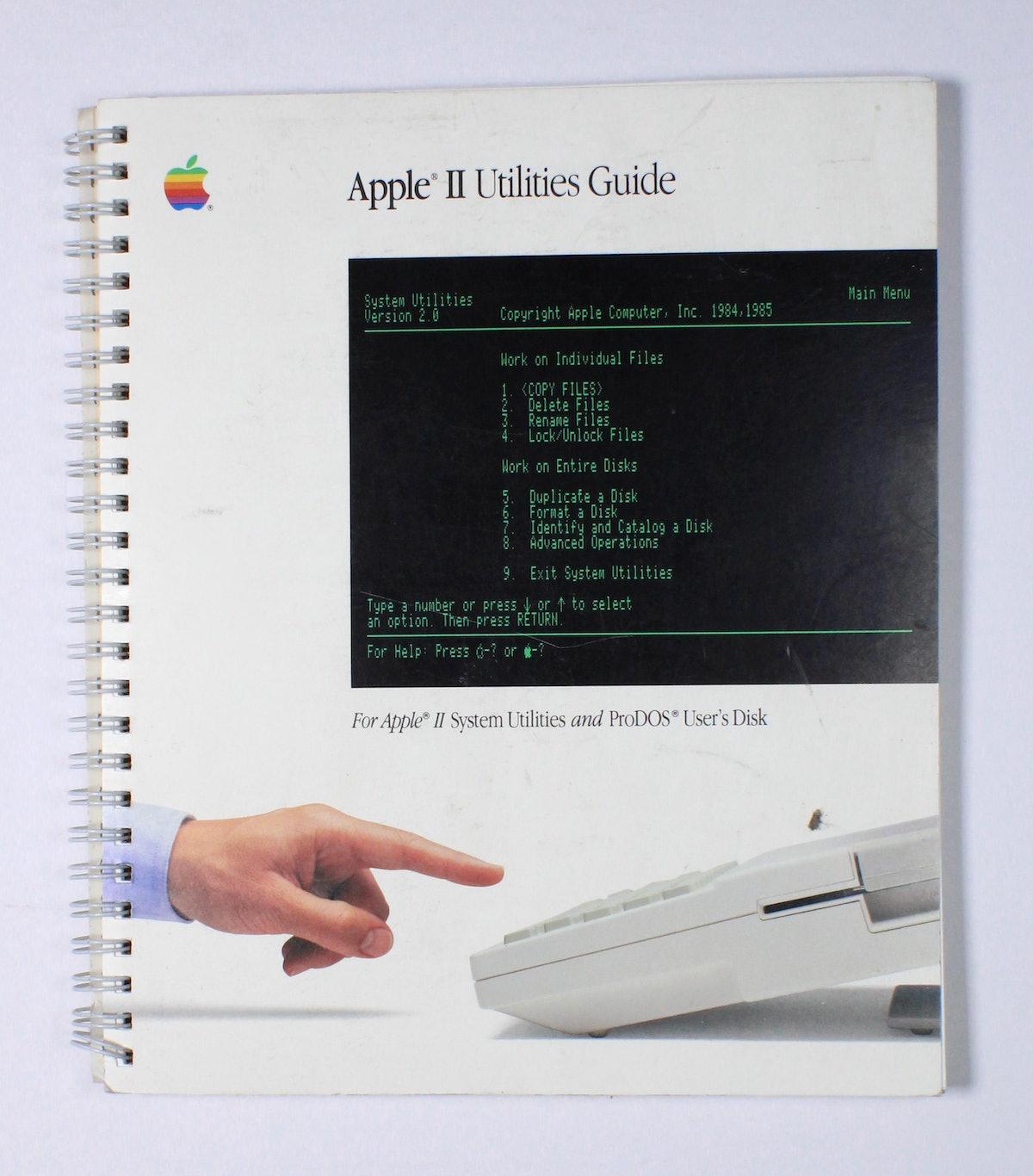 Apple II Utilities Guide