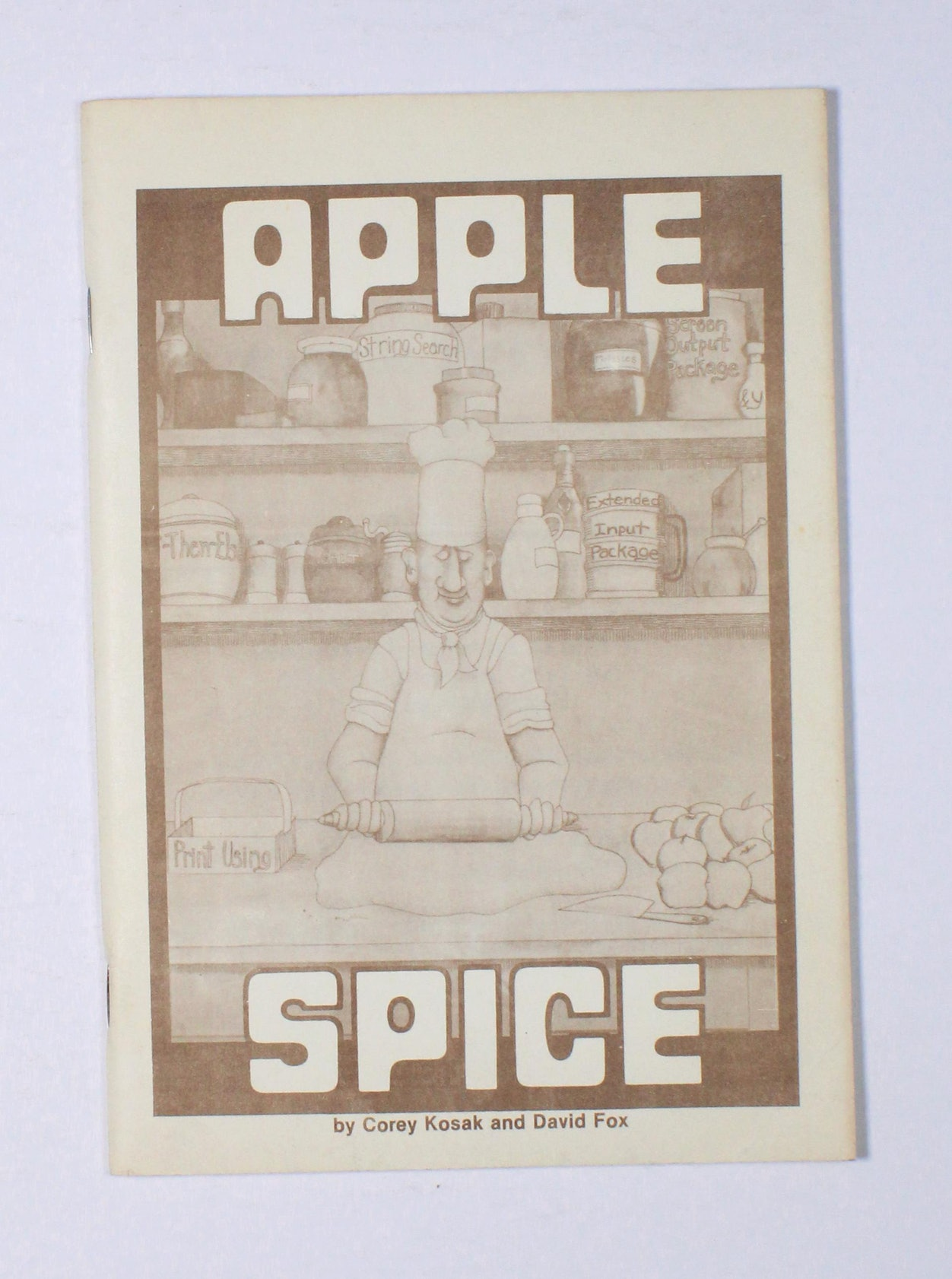 Apple Spice Instruction Manual