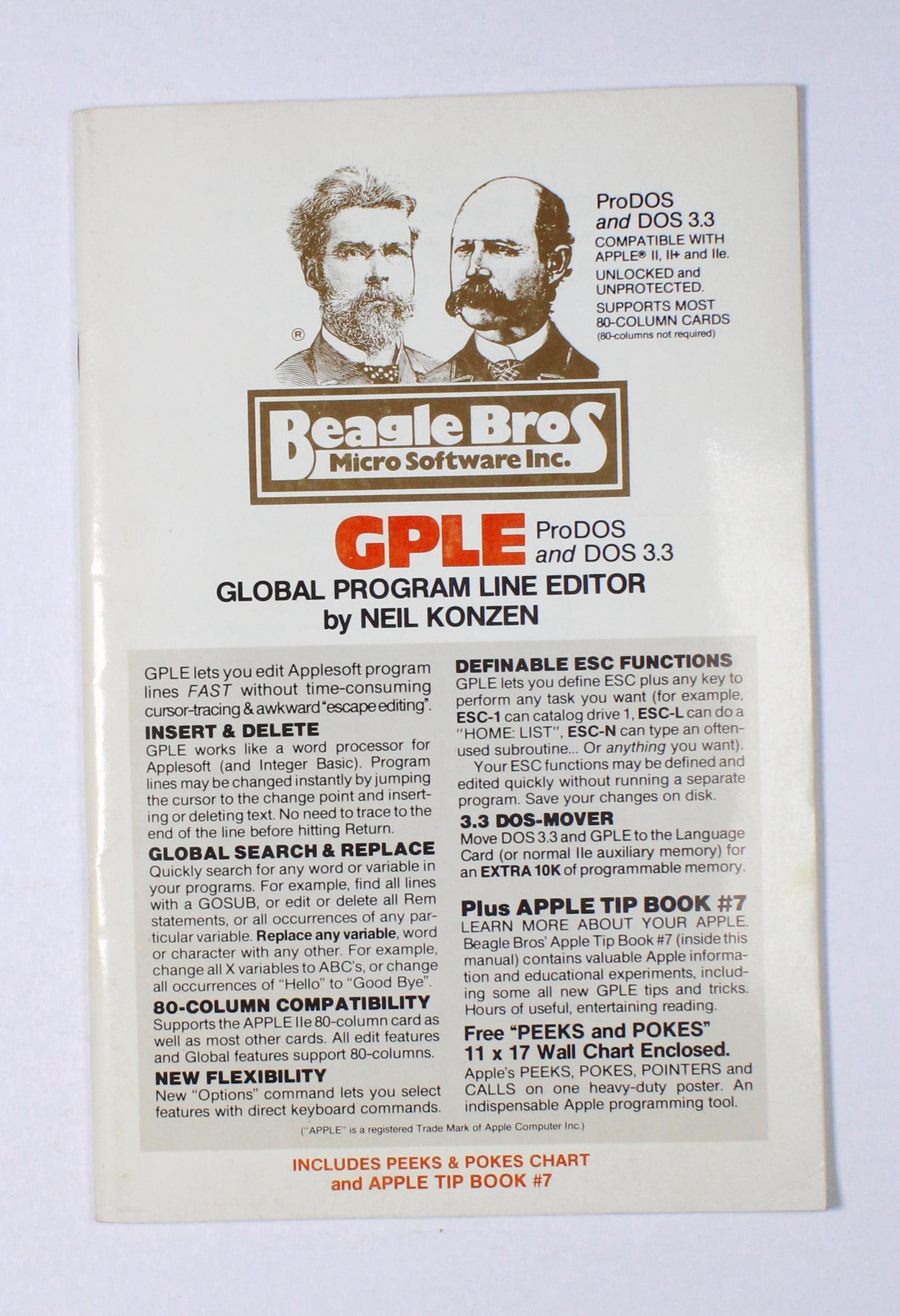 GPLE Global Program Line Editor