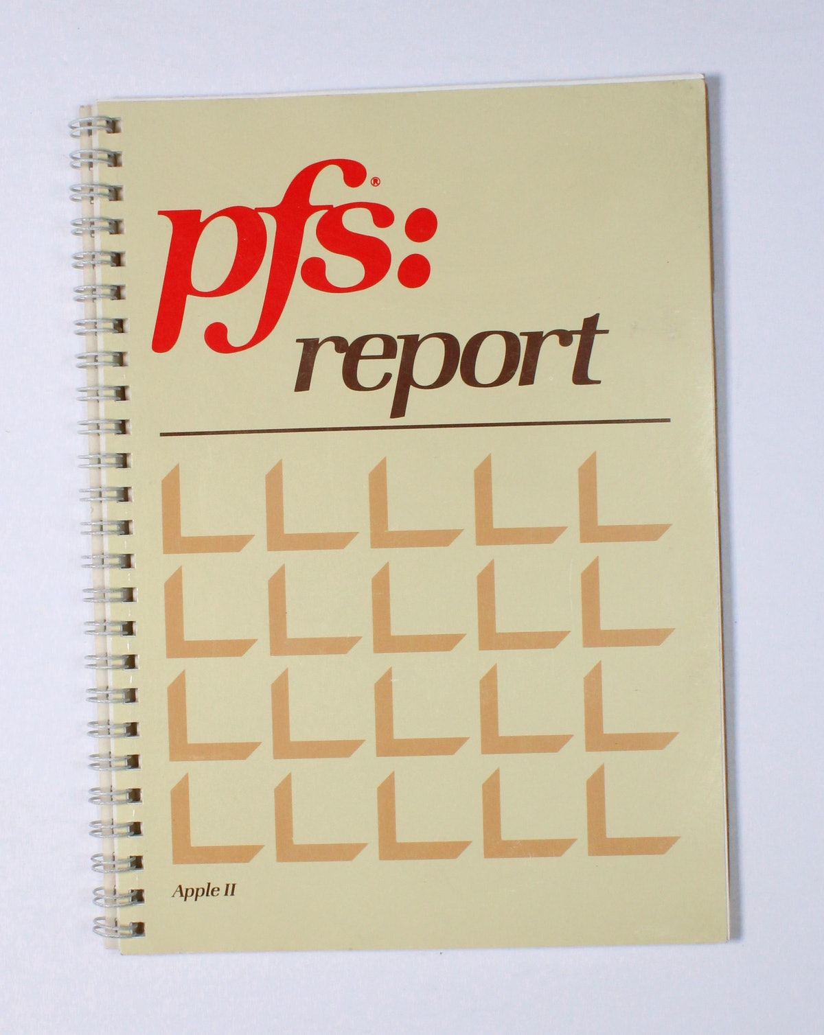 PFS: Report User's Manual for Apple II