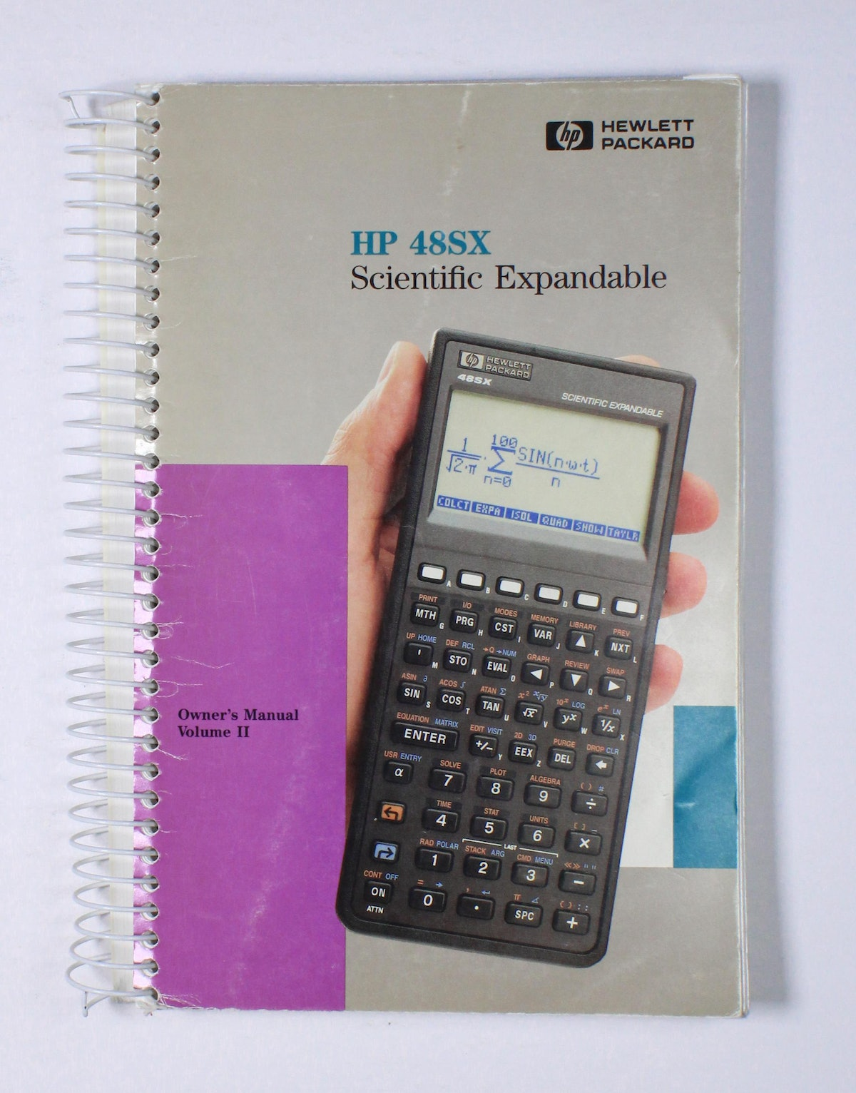 HP 48SX Scientific Expandable Owner's Manual Volume II