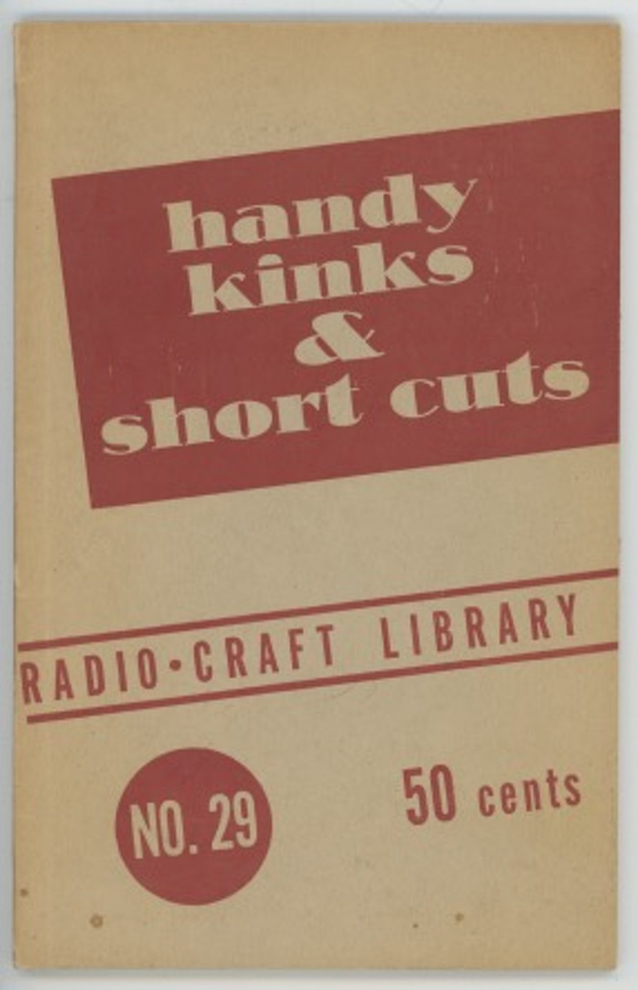 Handy Kinks & Short Cuts