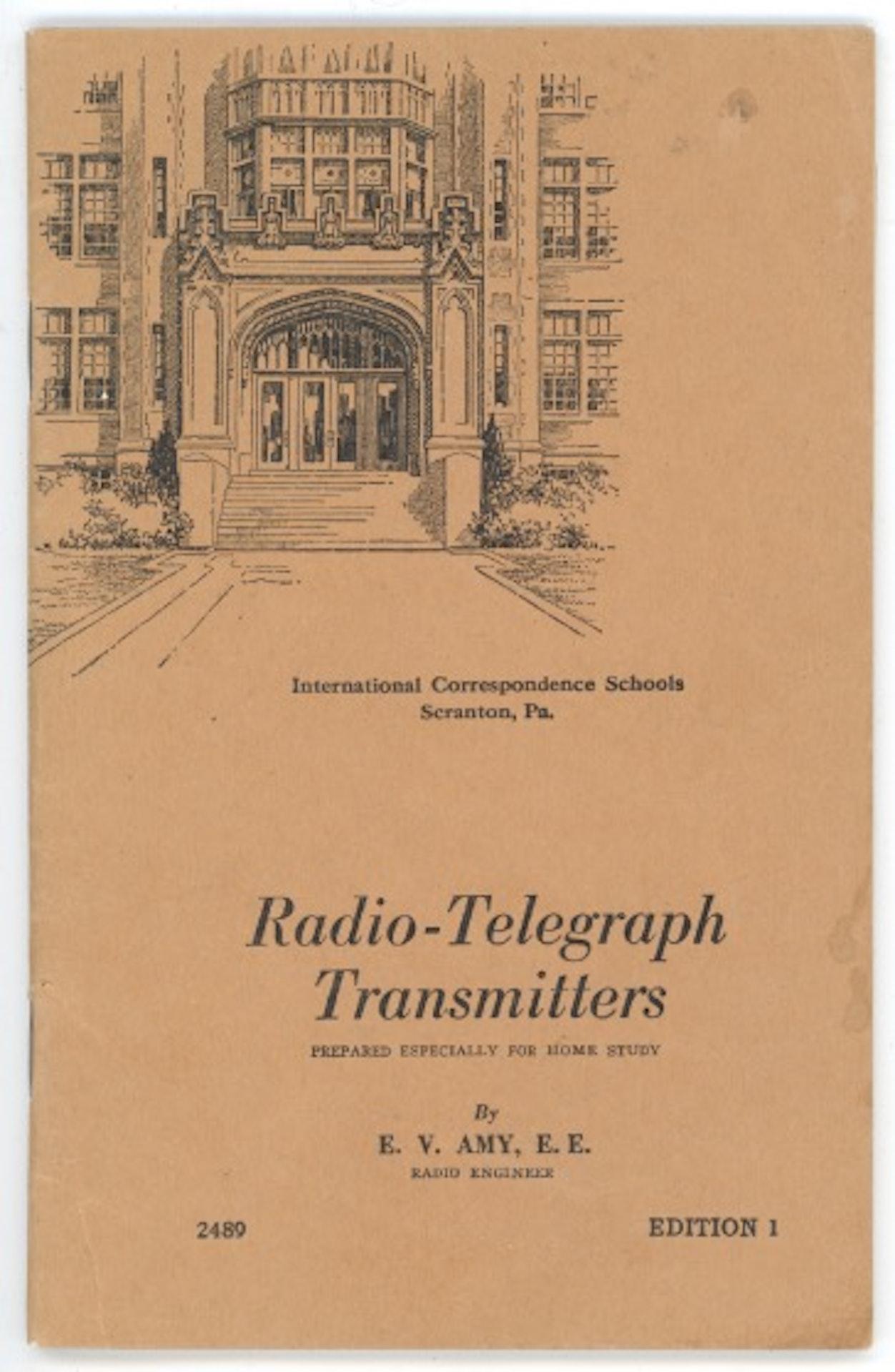 Radio-Telegraph Transmitters