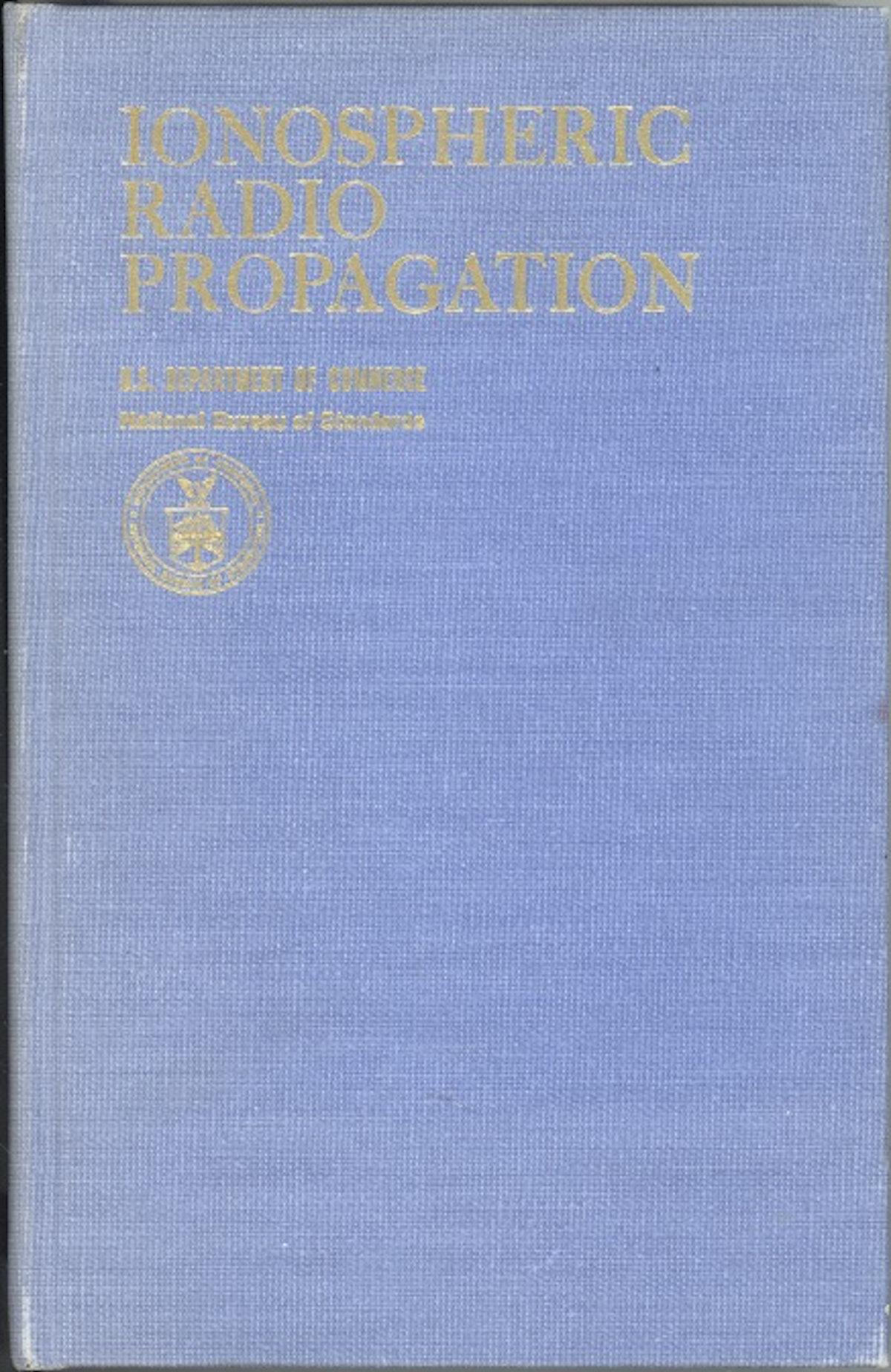 Ionospheric Radio Propagation