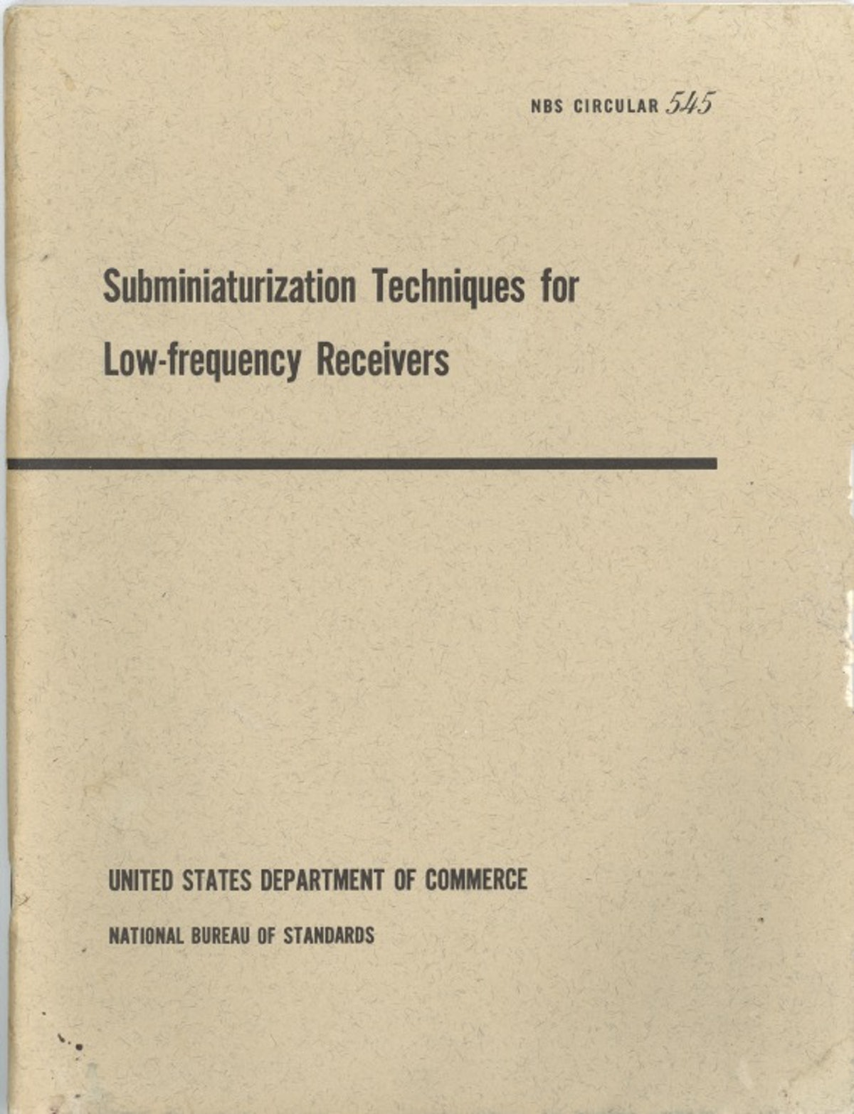 Subminiaturization Techniques for Low-frequency Receivers