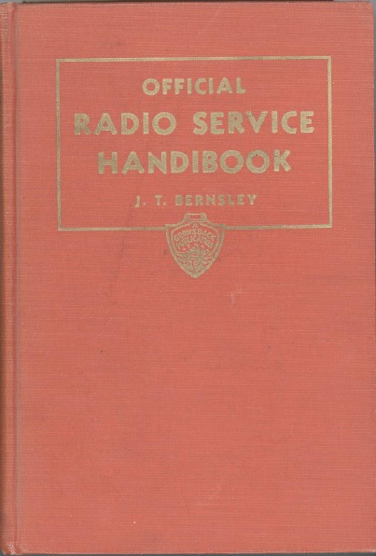 Official Radio Service Handbook
