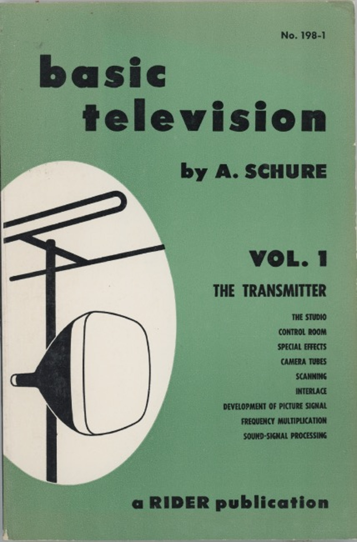 Basic Television Vol. 1 The Transmitter